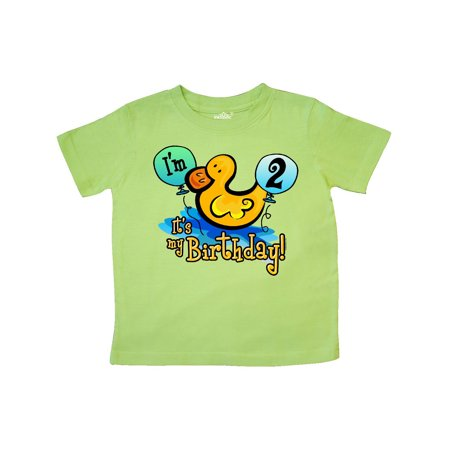 Ducky 2nd Birthday Toddler T Shirt