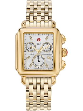 Michele Deco Day Diamond Ladies 33mm Watches