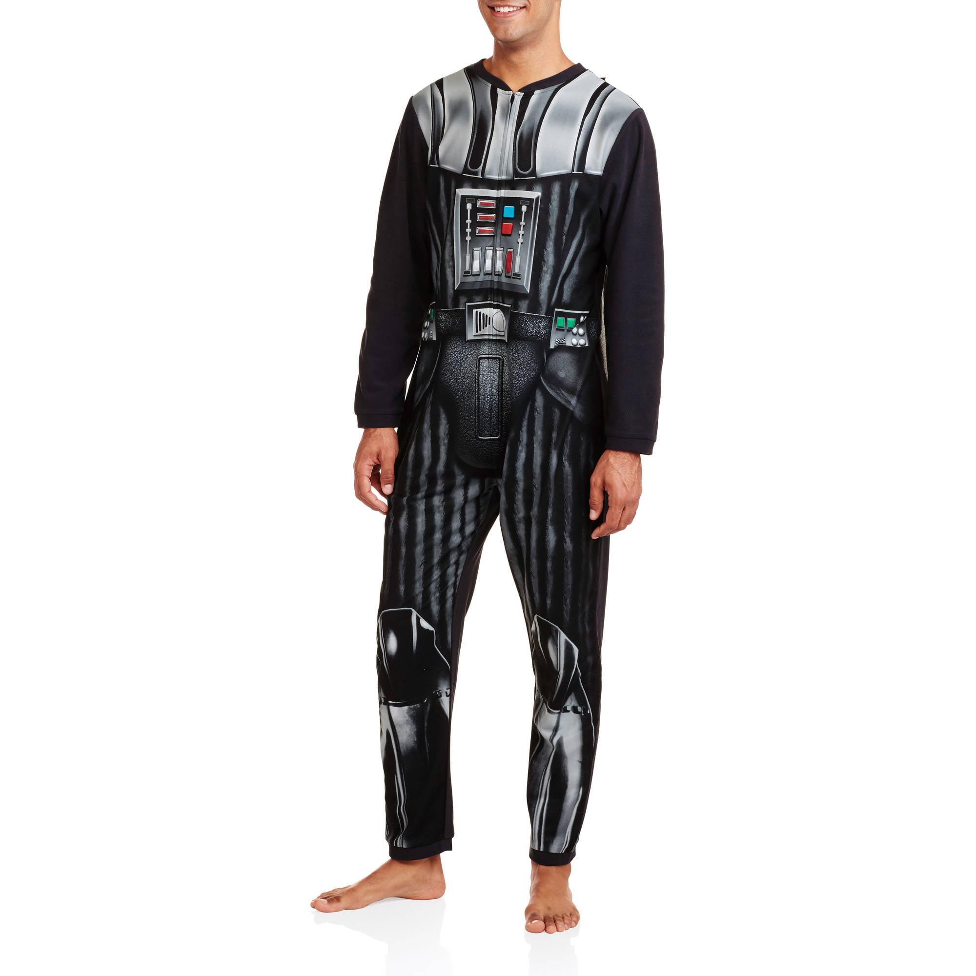Star Wars Vader Cape Men's Onesie Licensed Union Suit