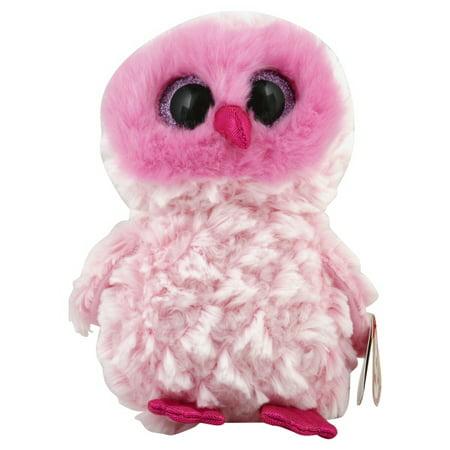 12386dd2b25 TY Beanie Boos Twiggy - Pink Owl Reg Plush - Walmart.com