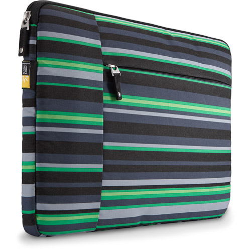 "Case Logic TS-113 13"" Laptop Sleeve with Tablet or Accessory Pocket, Wasabi"