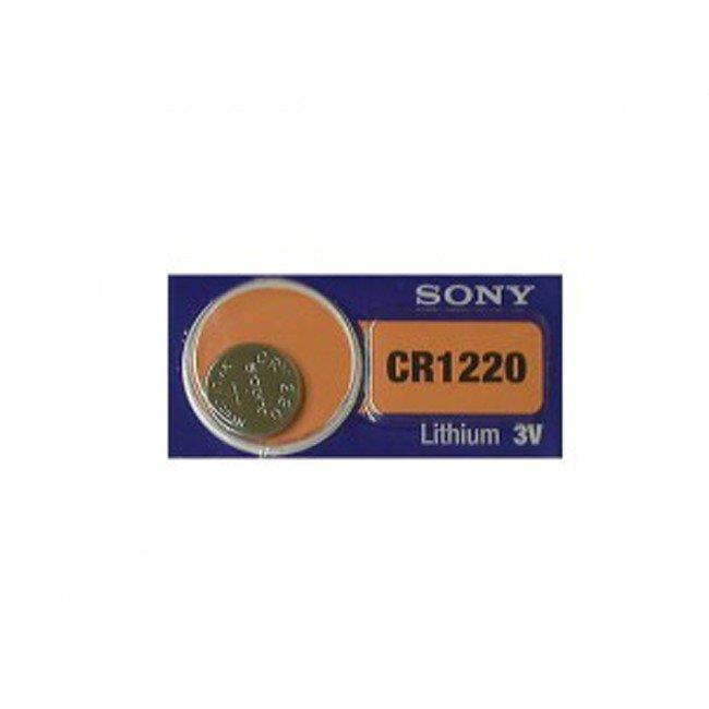 Sony SONY-CR1220 3V CR1220 Lithium Primary Coin Cell Watch Battery - image 1 de 1