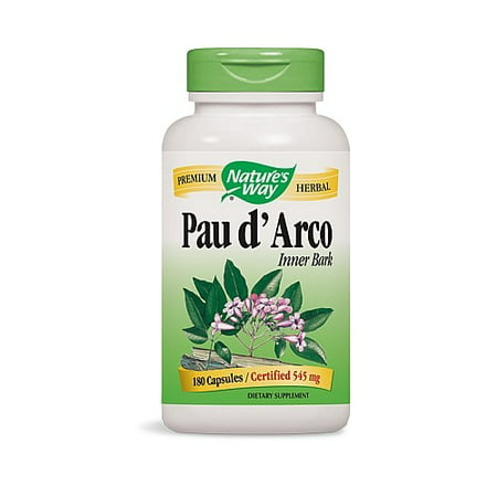 Nature's Way Pau d'Arco Capsules, 180 Ct Pau Darco Tincture