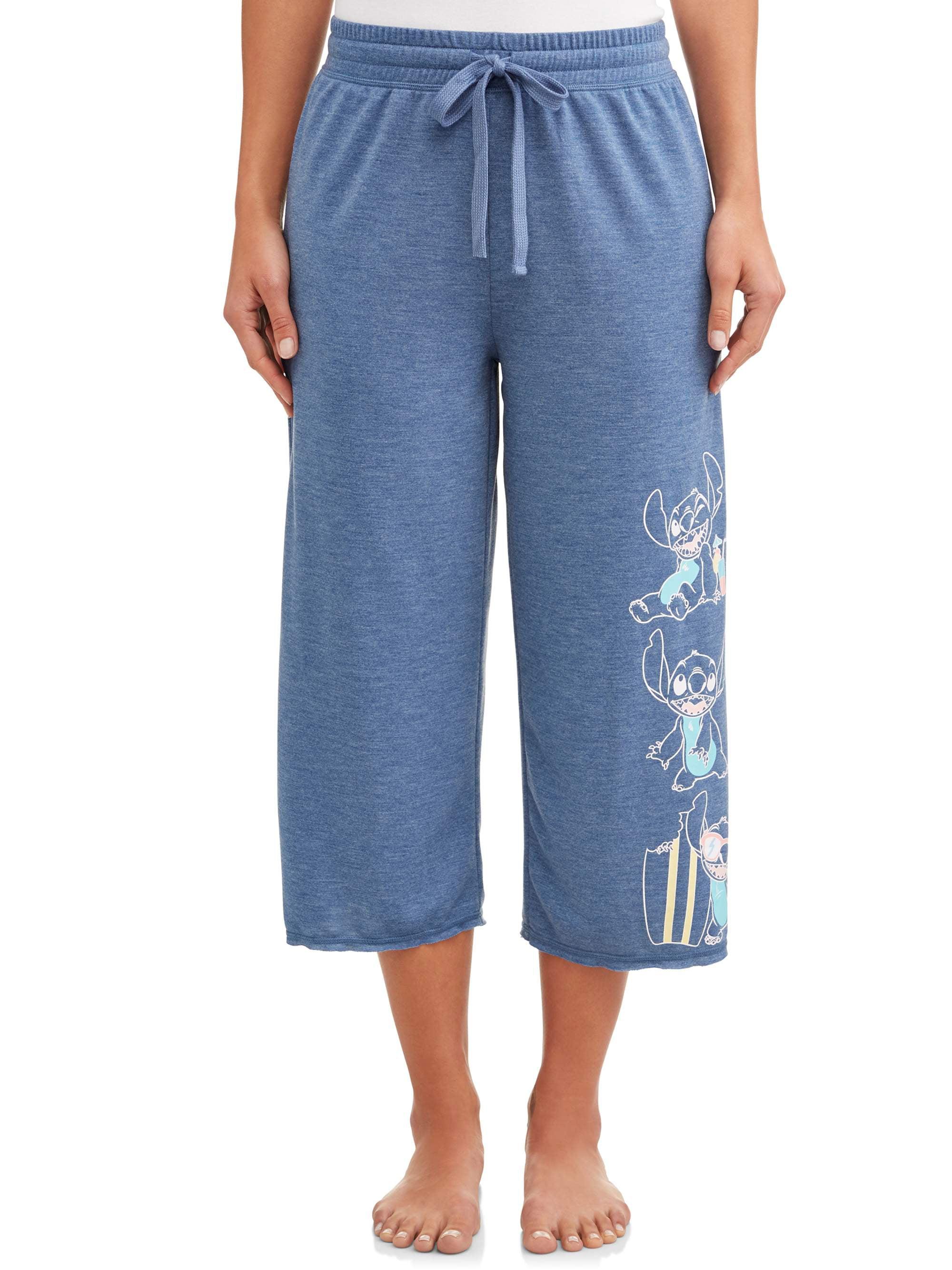 Disney Women's and Women's Plus License Pant Stitch