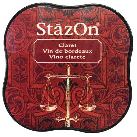 - StazOn Midi Ink Pad-Claret