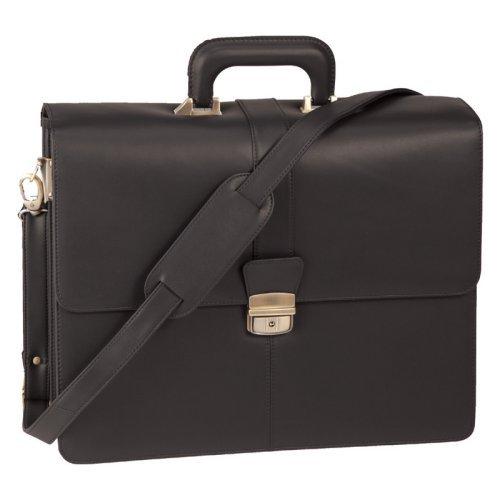 Royce Leather 633-BLACK-6 Legal Briefcase - Black