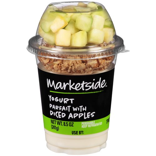 Marketside Yogurt Parfait with Diced Apples, 8.5 oz