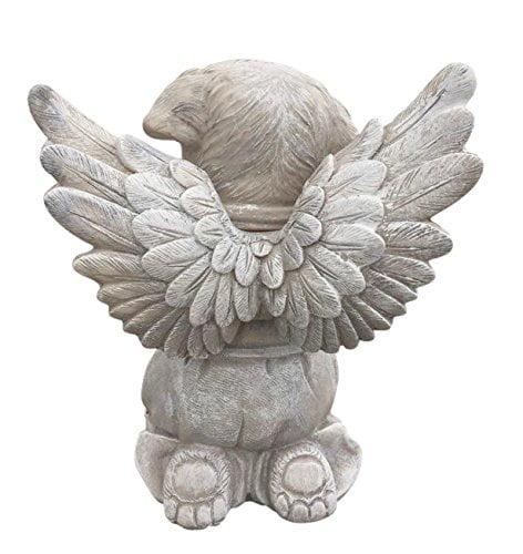 Dog Memorial Statue - Praying Dog Angel - Devotional Pet ...
