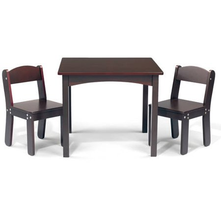WonkaWoo Deluxe Childrens Table and Chair Set Walmartcom