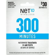Net10 $30 Basic Prepaid 60-Day Plan e-PIN Top Up (Email Delivery)