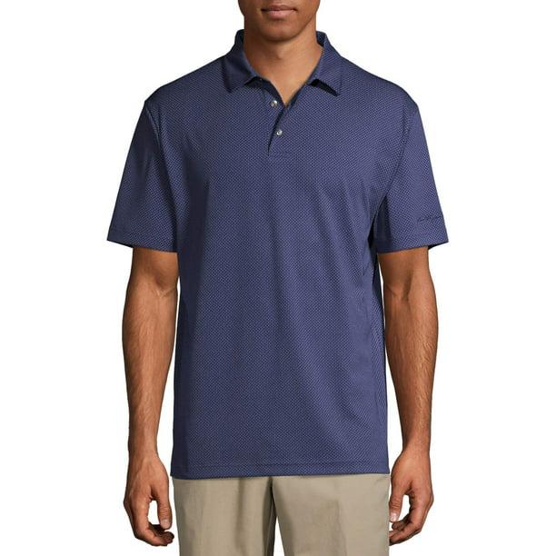 Ben Hogan Men & Big Men's Performance Short Sleeve Golf Polo Shirt, up to Size 5XL