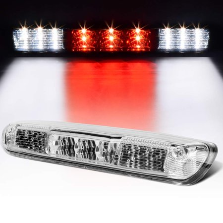 - LED 3rd Brake Light For Chevy Silverado 2007 2008 2009 2010 2011 2012 2013 Clear High Mount Trailer Cargo Lamp