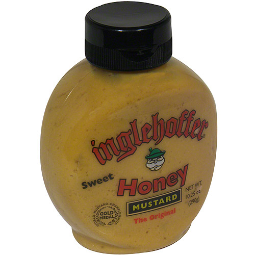 Inglehoffer Sweet Honey Mustard, 10.25 oz (Pack of 6)