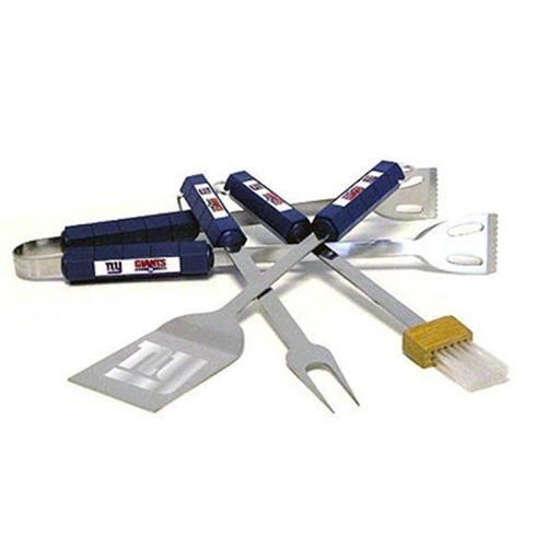 Siskiyou Sports New York Giants 4 Piece Bbq Set Barbeque Set