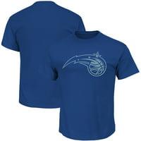 Orlando Magic Majestic Reflective Tek Patch T-Shirt - Blue
