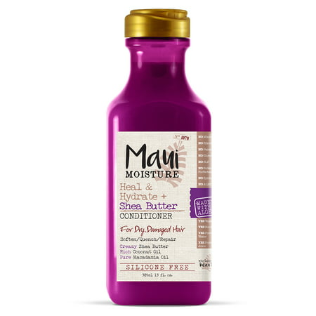 - Maui Moisture Heal & Hydrate + Shea Butter Conditioner , 13 Fl OZ