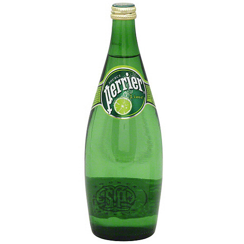 Perrier Lime Sparkling Water, 25 oz (Pack of 12)