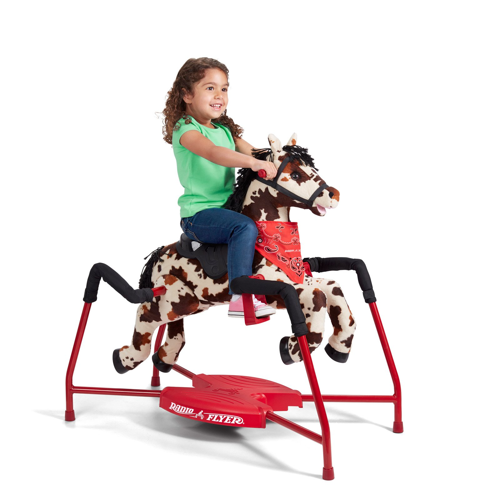 Radio Flyer Freckles Plush Interactive Riding Horse by Radio Flyer Inc