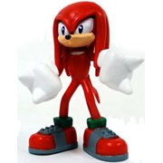 "Sonic The Hedgehog Gacha Buildable Figures Knuckles 2.5"" Mini Figure"