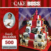 Cake Boss Sinfully Delicious 500 Piece Puzzle, 500 Piece Puzzles by Masterpiece