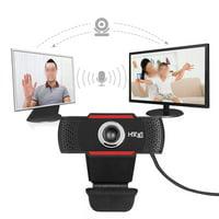Mgaxyff PC Video Camera,12M Pixels Webcam Web Camera HD Adjustable Rotating Stand Auto White Balance, PC Camera