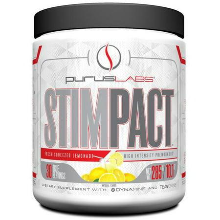Purus Labs Stimpact Pre Workout (Fresh Squeezed Lemonade - 30 Servings)