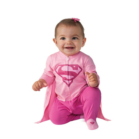 Infant Supergirl Onesie Costume by Rubies 887606