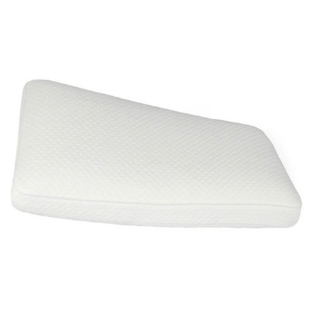 Fine Bedding Traditional Memory Foam Pillow : Luxury Extraordinaire White Gusseted Memory Foam Oversized Bed Pillow - Walmart.com
