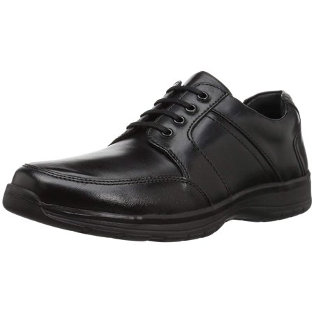 hush puppies leader henson mens black leather lace up oxford