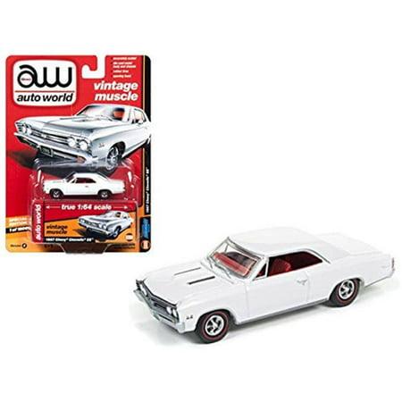 1967 Chevelle Chassis (1967 Chevrolet Chevelle SS Gloss White