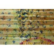 Parvez Taj Butterfly 2 Art Print On Natural Pine Wood