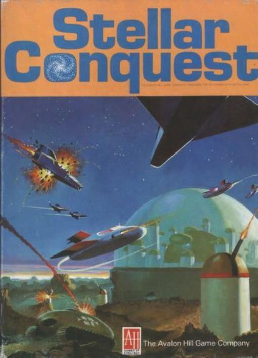 Stellar Conquest Great Condition by Avalon Hill