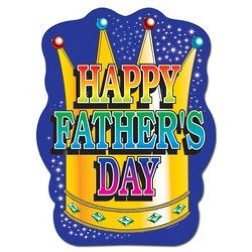 Happy Father's Day Sign Party Accessory (1 count)