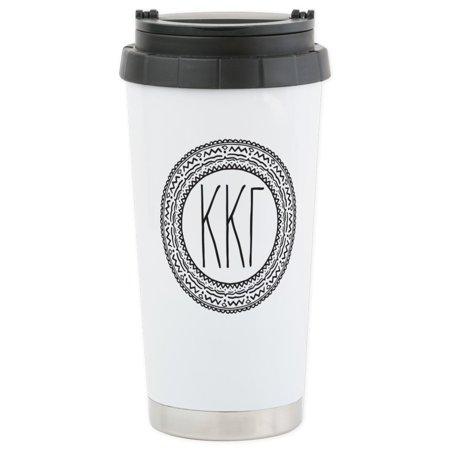 - CafePress - Kappa Kappa Gamma - Stainless Steel Travel Mug, Insulated 16 oz. Coffee Tumbler
