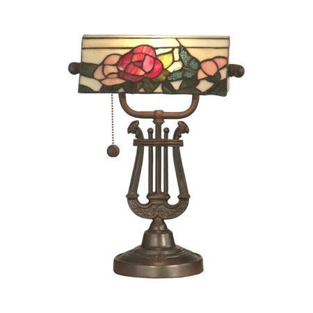 Lamps Dale Tiffany Fabric (Dale Tiffany Broadview Bank Accent Lamp )
