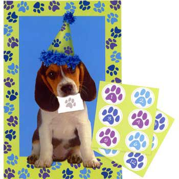 Puppy Party Game (game For 12 Players) - Party Supplies (Puppy Themed Party Supplies)