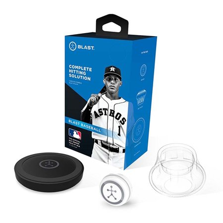 Blast Motion Baseball Swing Analyzer Official 360 Bat Sensor Tech of