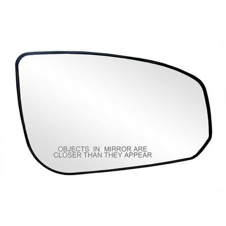 Nissan Maxima Mirror Glass (30190 - Fit System Passenger Side Heated Mirror Glass w/ backing plate, Nissan Maxima 04-08, 4 9/ 16