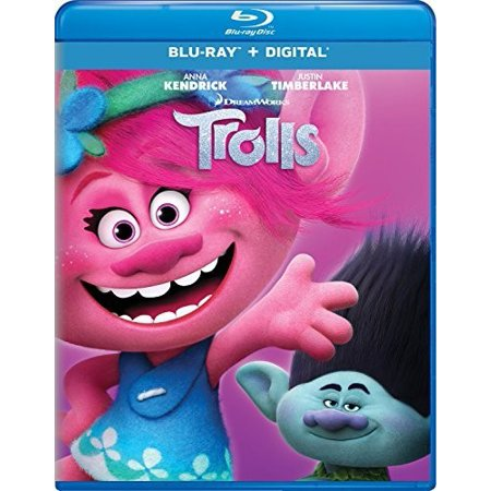 Is Zooey Deschanel In Elf (Trolls (Blu-ray + Digital))