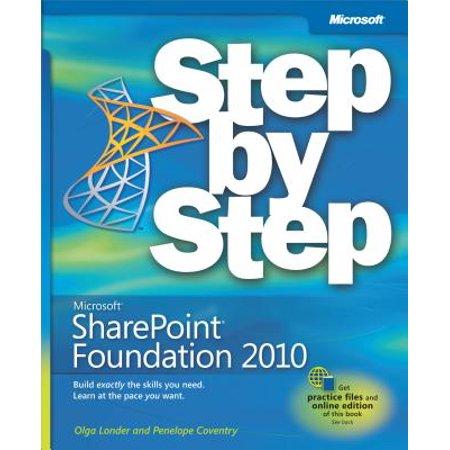 Microsoft SharePoint Foundation 2010 Step by Step -