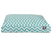 Majestic Pet Products Chevron Rectangle Dog Bed