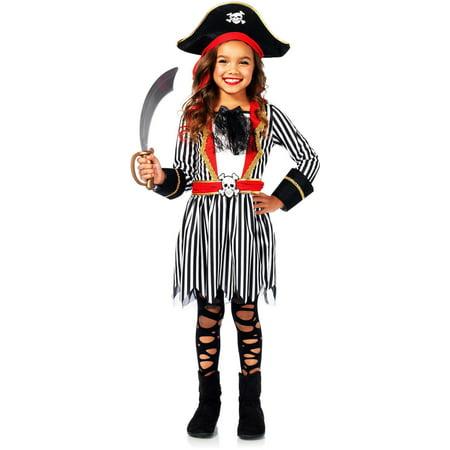 Leg Avenue Pirate Captain Childrens Costume