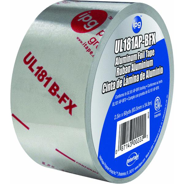 Intertape UL181AP-BFX Aluminum Foil Tape