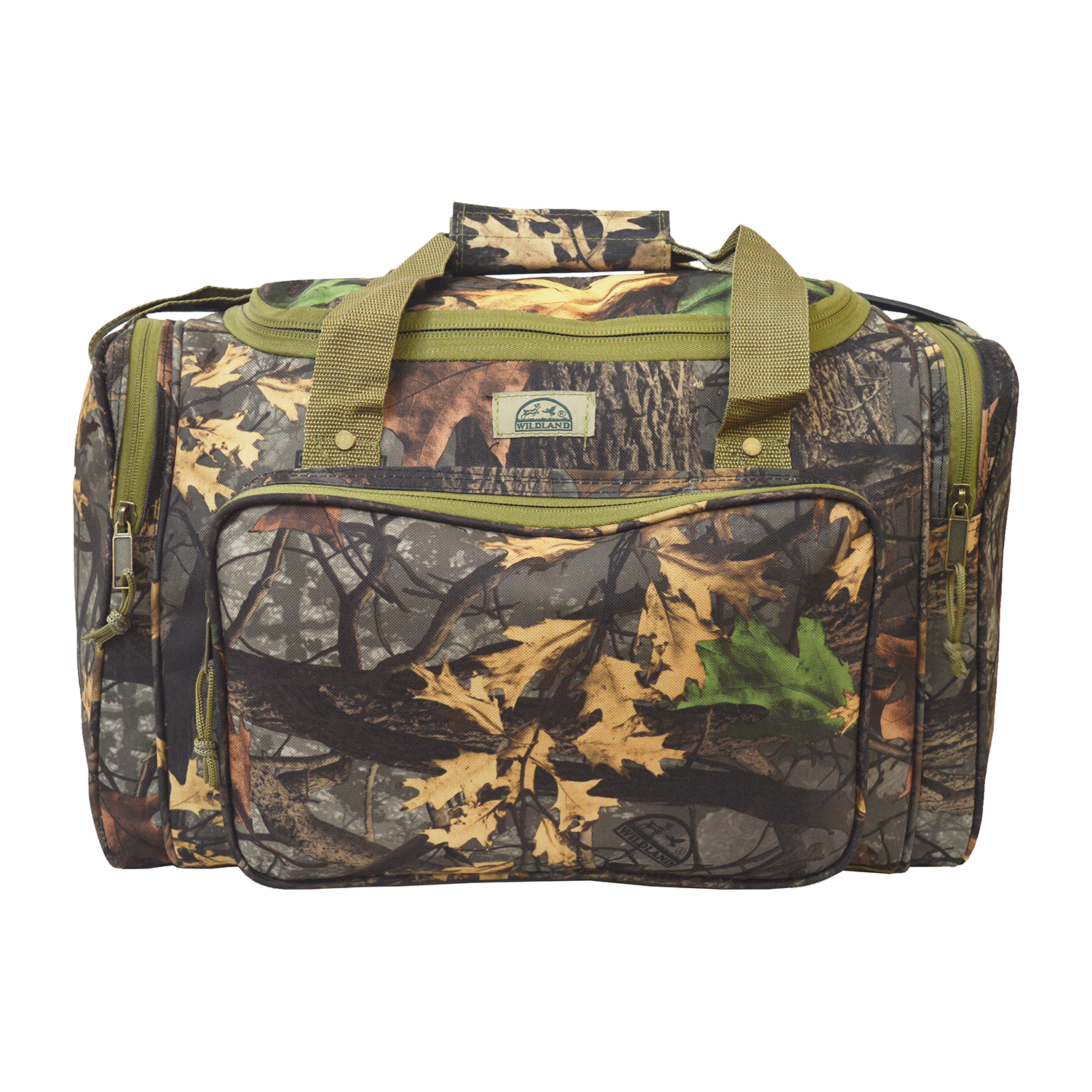 Every Day Carry Wildland Camo Tactical Brief Case Messenger Bag w/ 2 Gun Carrier
