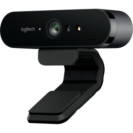 Logitech BRIO Webcam - 90 fps - USB 3.0 - 4096 x 2160 Video - Auto-focus - 5x Digital Zoom - Microphone - Notebook (Fixed Focus Webcam)