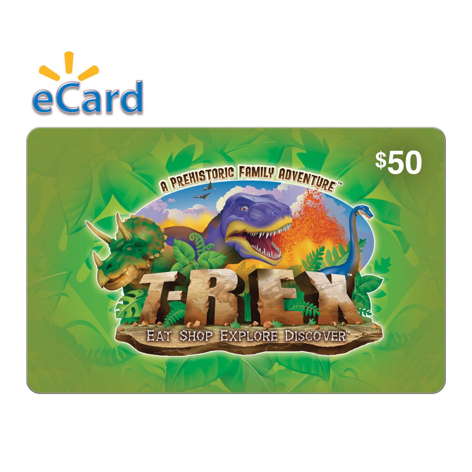 T-REX $50 eGift Card (Email Delivery)