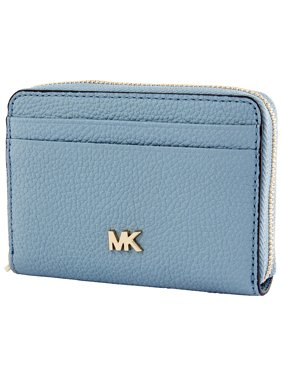 f24361f4acf1 Product Image Michael Kors Small Pebbled Leather Wallet- Powder Blue