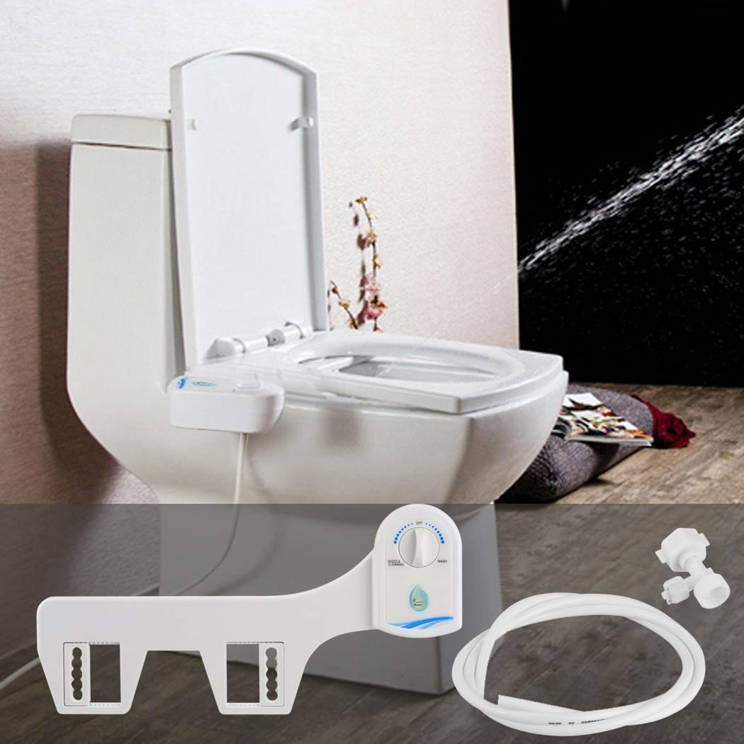 Christmas Big Clearance! Easy Install Bidet Toilet Attachment Bidet Seat Fresh Water Sprayer - Self Clean Function DADEA