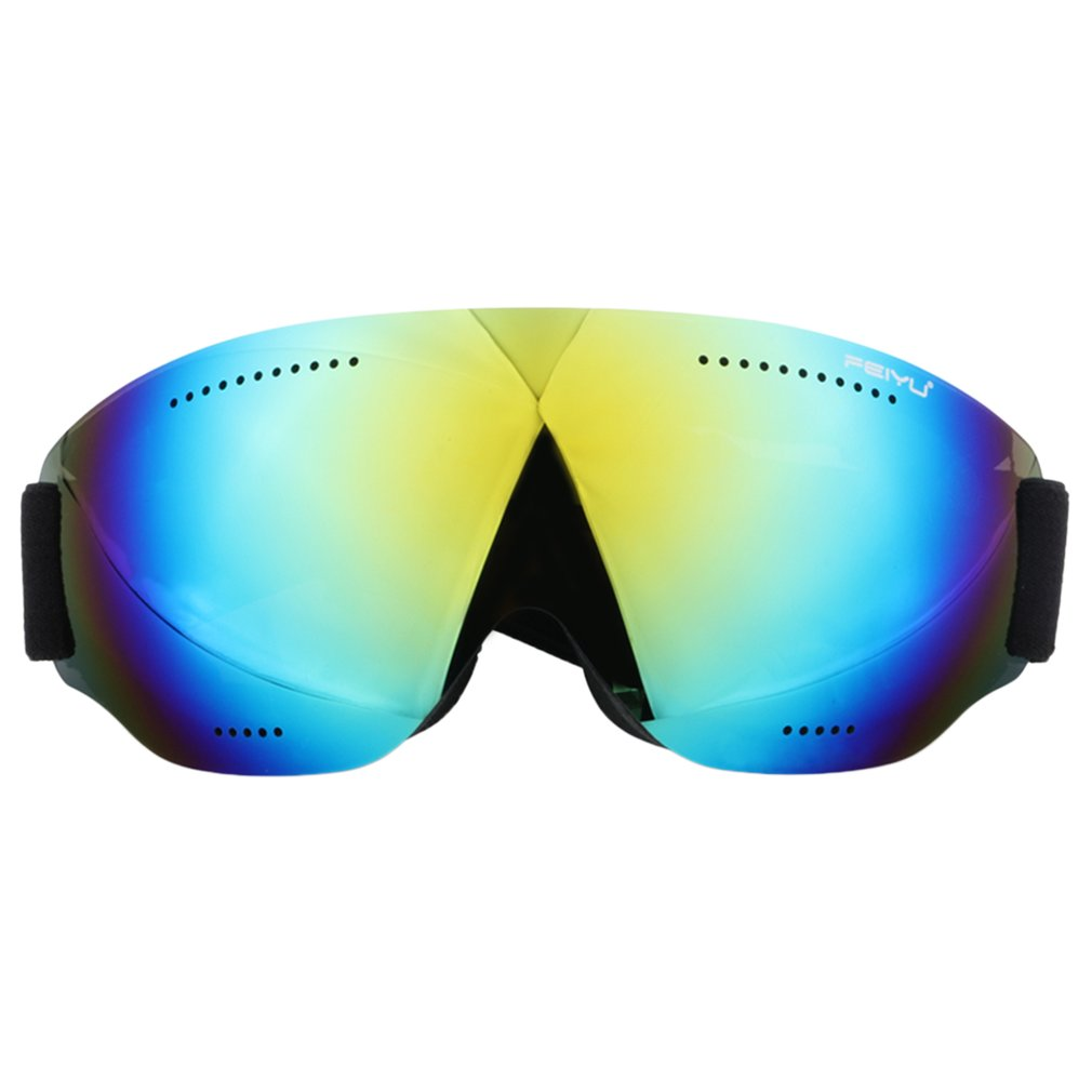 Feiyu 068 Single Layers Windproof Sunglasses Ski Goggles Skiing Accessories by