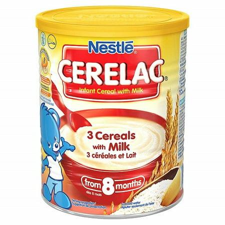 Nestle Cerelac 3 Cereals With Milk, 400 Gram Can (400 Gram Thinsulate Vs 800 Gram Thinsulate)